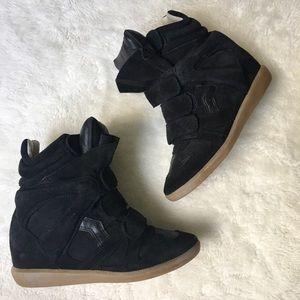 Isabel Marant Bekett Sneakers Size 37 Black